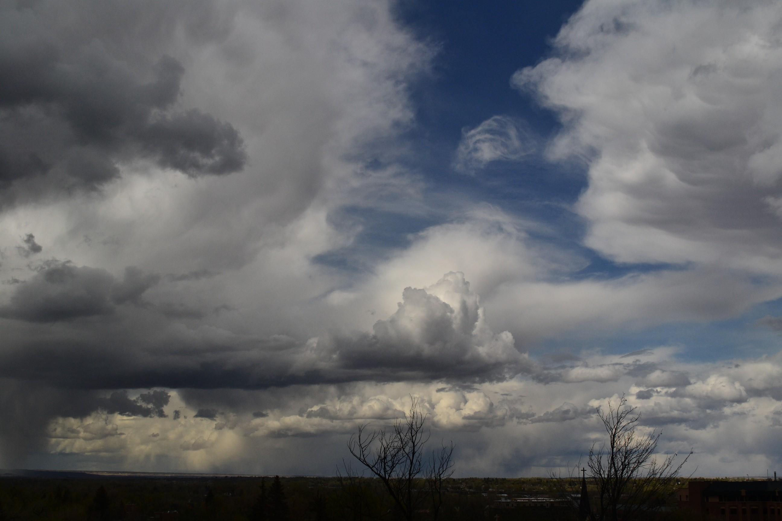 Afternoon Rainy & Cumulus Clouds, 2012-04-19 - Cumulus ...