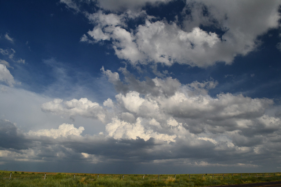 Thunderstorm over Weld County CO, Cumulus Clouds 3