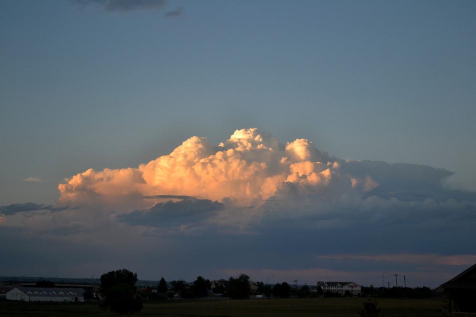 Dark Stratus Cloud Sun...