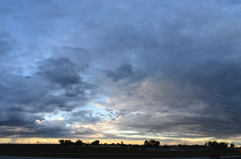 Mellow Sunset Panoramic