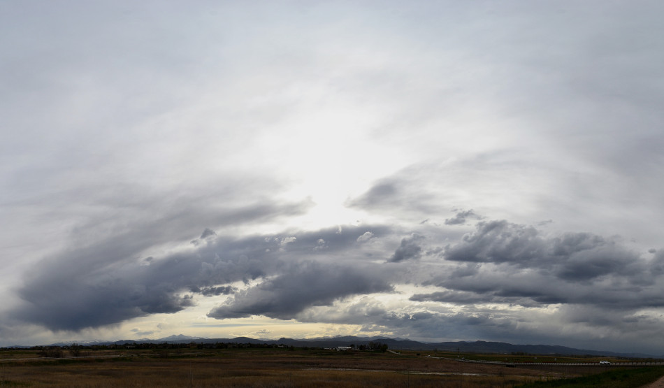 Gray Stratus Cloud Panoramic