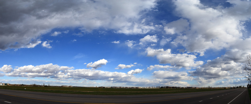 Stratus Cloud Panoramic